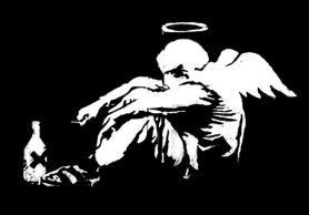 Homeless Angel by Bansky
